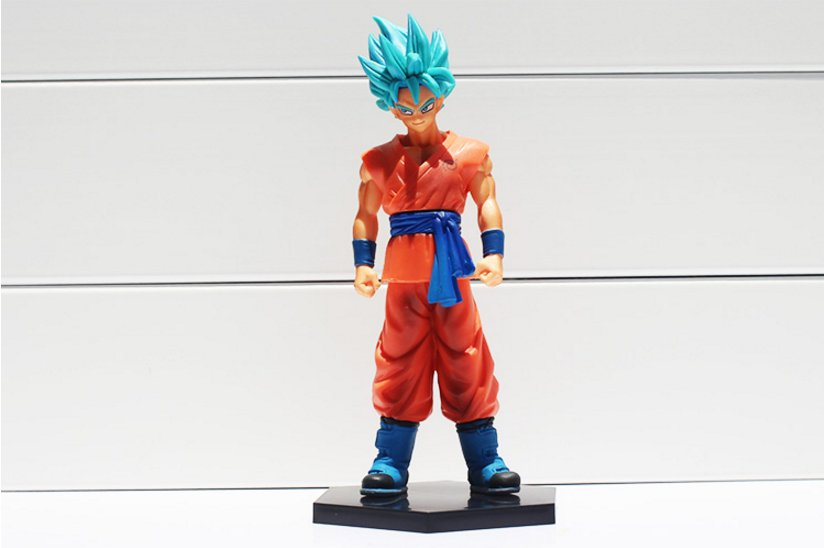 18cm Dragon Ball Z Resurrection F Son Goku PVC Action Figure Gokou Figures