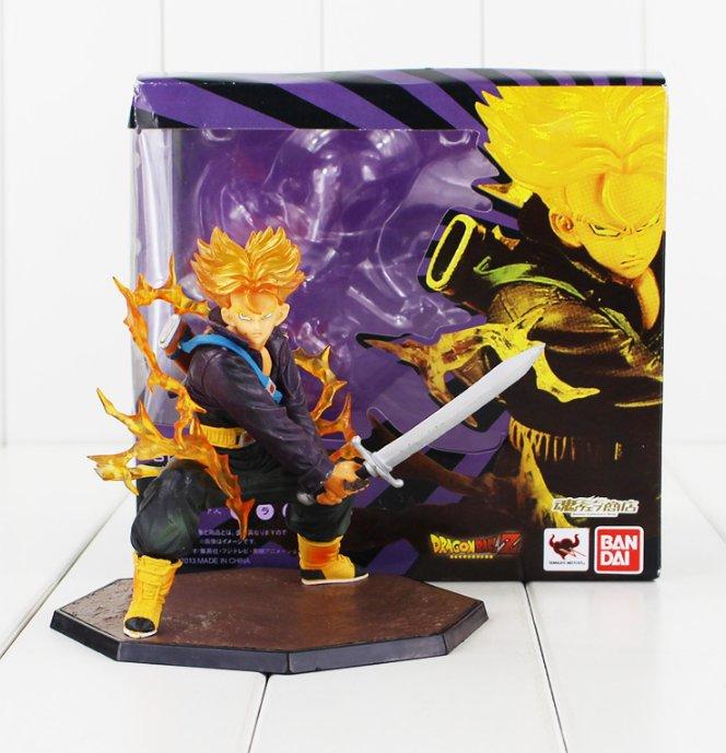 Dragon Ball Z Figure Toy Trunks Super Saiyan Figuarts Zero Anime with box