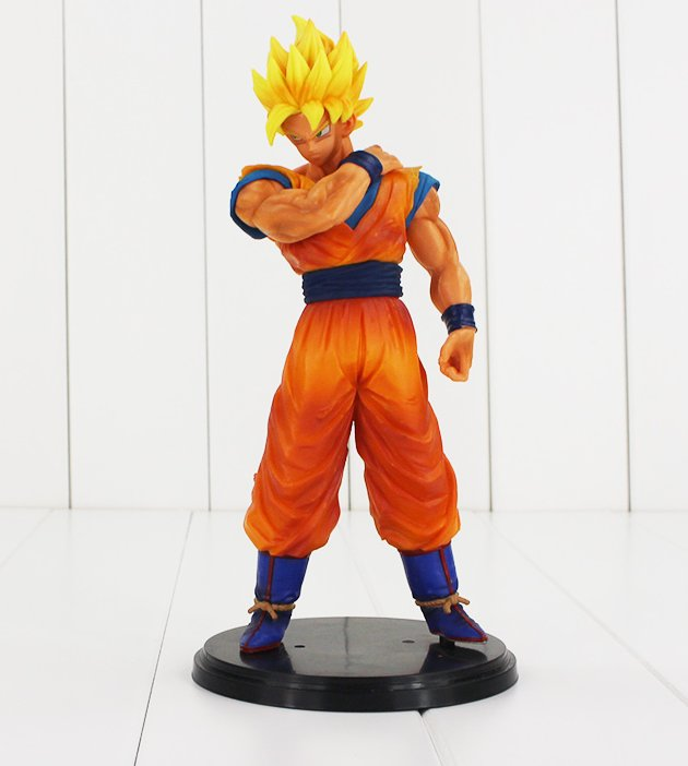 Dragon Ball Z Resolution of Soldiers Figure Toy Son Goku Super Saiyan Anime