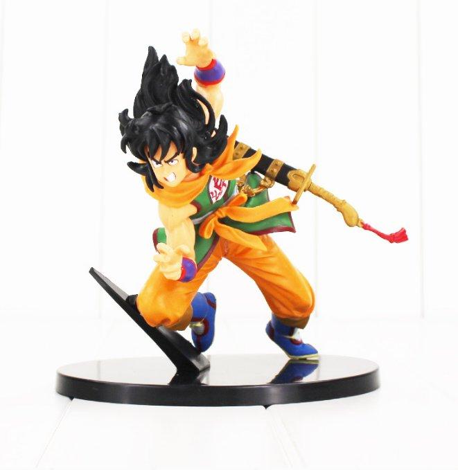 Dragon Ball Z Son Goku Yamcha Figure Toy With Sword Anime