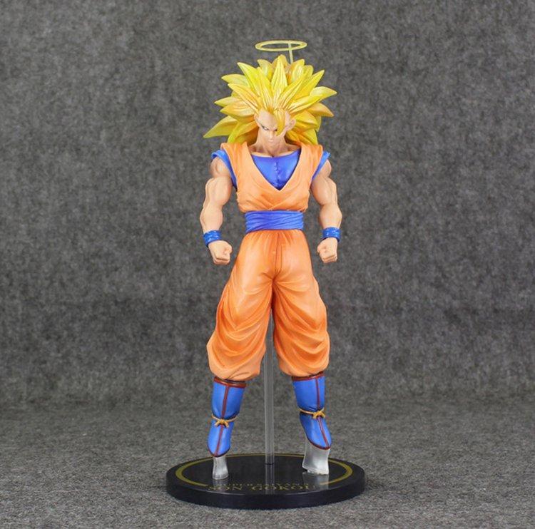 Large Size 30cm Dragon Ball Gokou Figure Super Saiyan 3