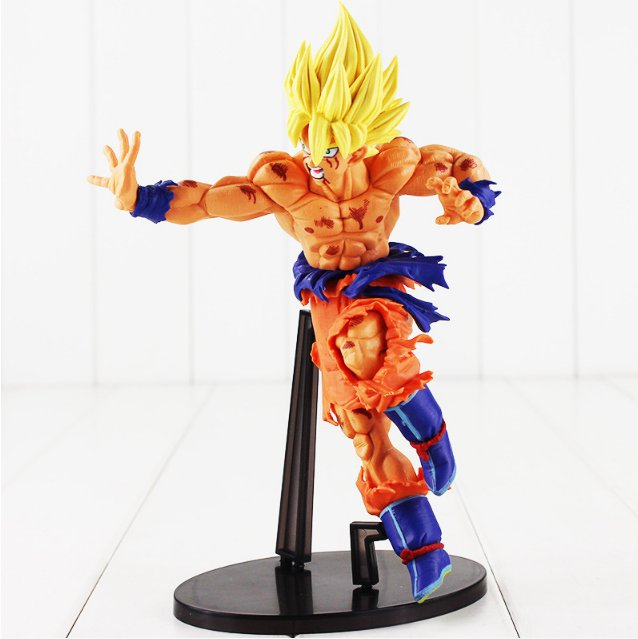 22CM Banpresto SCultures BIG Dragon Ball Z Resurrection F Son Goku