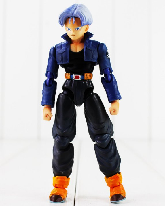13cm Anime Dragon Ball Z Figure Toy Future Trunks S.H.Figuart Action Figure Cool Trunks