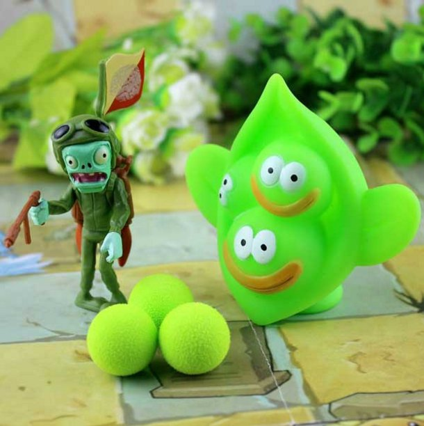 2017 new game swept the world of plants and Zombies new popular (Gold)