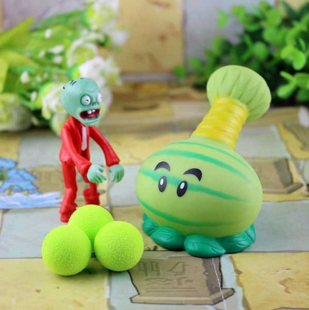 2017 new game swept the world of plants and Zombies new popular (Light Yellow)