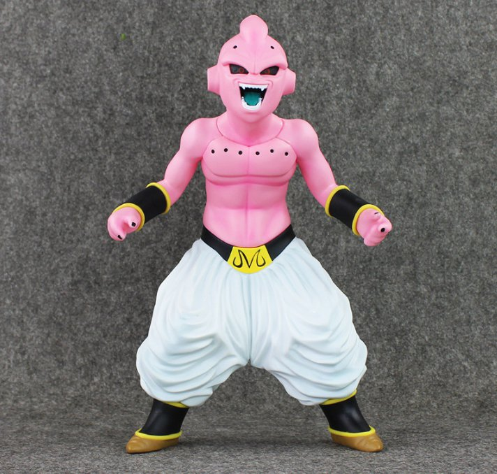 30cm Dragon Ball Z PVC Figure Toy Majin Buu Model Doll Evil Boo