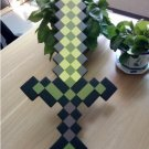 60cm Minecraft Toys Minecraft Sword EVA Model Toys Action Figures Toys (Green)