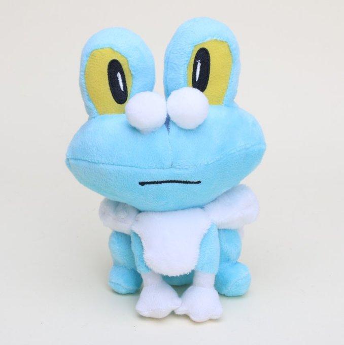 17cm Pocket doll Plush Chespin Fennekin Froakie Anime Plush Toy (Blue)