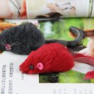 Mini Pet Cats Bright Colored Little Animation Mouse Mice Toys Randomly