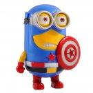 Captain America despicable me slave minions toys