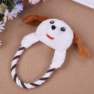 Dog Cat Toys Pets Puppy Interactive Plush Chew Squeaker Sound Toy (STD)