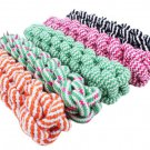 21cm Rope Dog Tug Toys Pets Puppy Chew Braided Tug Toy For Pets Dogs Training Bait
