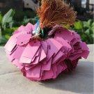 60pcs Plants Hang Tag Labels And Brands Seedling Garden Flower Pot Plastic Tag (Pink)