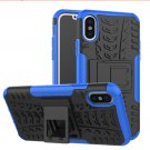 Cover For Apple iPhone 8 Case 5.8'' for iPhone8 Cover Rugged Armor Mobile Phone Cases (Blue)