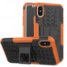 Cover For Apple iPhone 8 Case 5.8'' for iPhone8 Cover Rugged Armor Mobile Phone Cases (Orange)