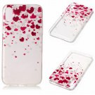 iPhone 8 Case New Arrival Hot Soft TPU Flowers Butterfly Painted Phone Skin Transparent Clear (13)