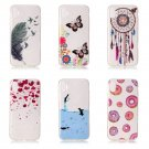 50 pcs/lot Case For iphone 8 Cover For Silicone Soft TPU Clear Phone Thin cover
