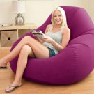 Sex Furniture Soft Flocking Single Backrest Inflatable Sofa for sex relax