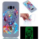 Samsung S8 Plus Case Cute Cartoon Soft Silicone TPU Back Luxury Luminous Phone Cover (7)