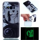 Samsung S8 Plus Case Cute Cartoon Soft Silicone TPU Back Luxury Luminous Phone Cover (6)