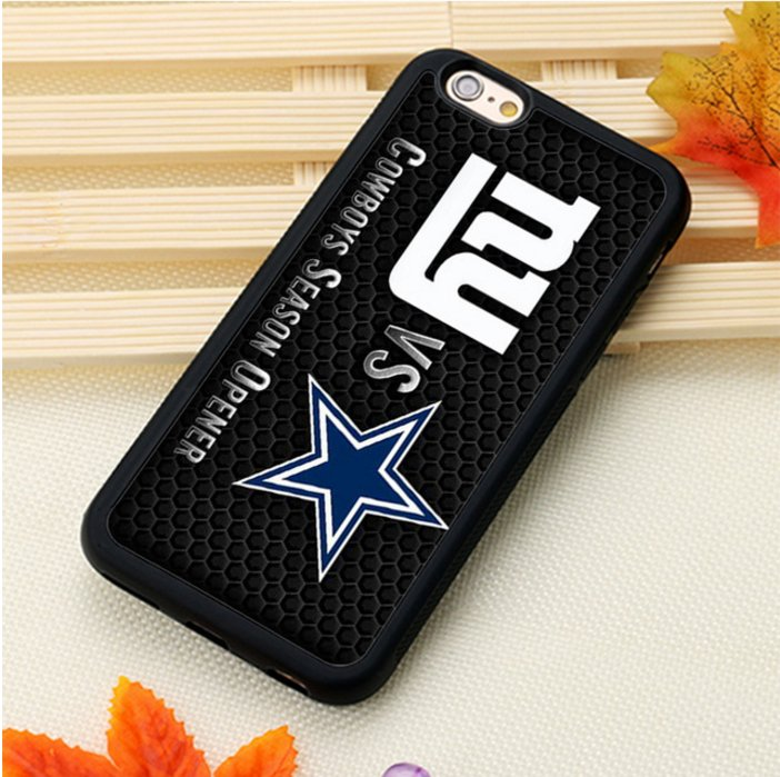 New York Giants logo Printed Soft TPU Case For iPhone 6 6 Plus 6S 6S Plus 7 7Plus 5 5S 5C 5SE