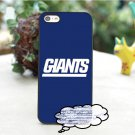 New York Giants Logo fashion cover case For iPhone 6 6 Plus 6S 6S Plus 7 7Plus 5 5S 5C 5SE