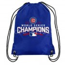 35*45 cm knitted polyester baseball champion team Chicago Cubs drawstring backpack