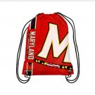 35*45 cm Knitted Polyester Maryland Terrapins Drawstring Backpack custom bags