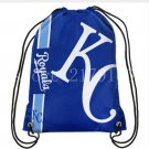 Promotion 35*45 cm digital printing knitted polyester Kansas City Royals drawstring backpack