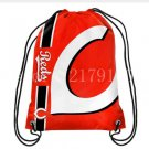 35*45 cm 110g knitted polyester Cincinnati Reds sports backpack bagsin