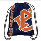 35*45 cm Knitted Polyester NCAA Drawstring Backpack - Auburn University with grommets