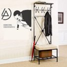 Chester Bennington Vinyl Wall Stickers Superstar Rock Linkin Park Wall Decal 56x42cm