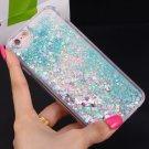 Love Heart Glitter Stars Dynamic Liquid Quicksand Soft TPU Back Cover Case For Iphone 5 6 7 Plus