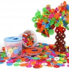 300PCS Kids Favorite Educational DIY Assembling Snowflake Blocks Toys Creative Learning Construction