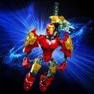 Avengers Hero Iron Man Puzzle Action Figure Toy Building Blocks