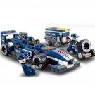 196pcs/set F1 Racing Car Building Blocks Toy Car Action Figure Toy