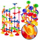 105pcs Brand DIY Marble Race Run Maze Balls Track Building Blocks