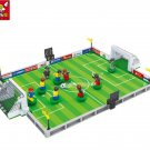 Brand Compatible City Football Field Model Building Bricks Blocks World Cup Hegemony Figures Toys