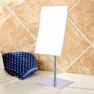 Makeup Mirror-Square 8 Inch 10X magnifying mirrors desktop for makeup Crossing chrome