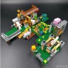 Minecrafted My World Block 400+PCS Bricks Compatible Legoing Minecrafter Building Blocks