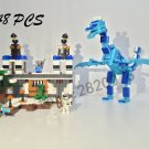 Model building kits compatible with lego the sky dragon my worlds Minecraft 548 pcs