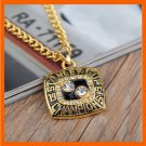 1992 NHL PITTSBURGH PENGUINS NECKLACE REPLICA ICE HOCKEY STANLEY CUP CHAMPIONSHIP
