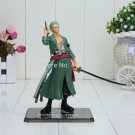15cm One Piece Japanese Anime Cartoon Two Years Later Roronoa Zoro Action Figures PVC