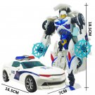 19cm New Arrival Big Classic Transformation Plastic Robot Cars Action Toy (5)