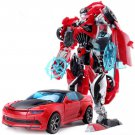 19cm New Arrival Big Classic Transformation Plastic Robot Cars Action Toy (9)