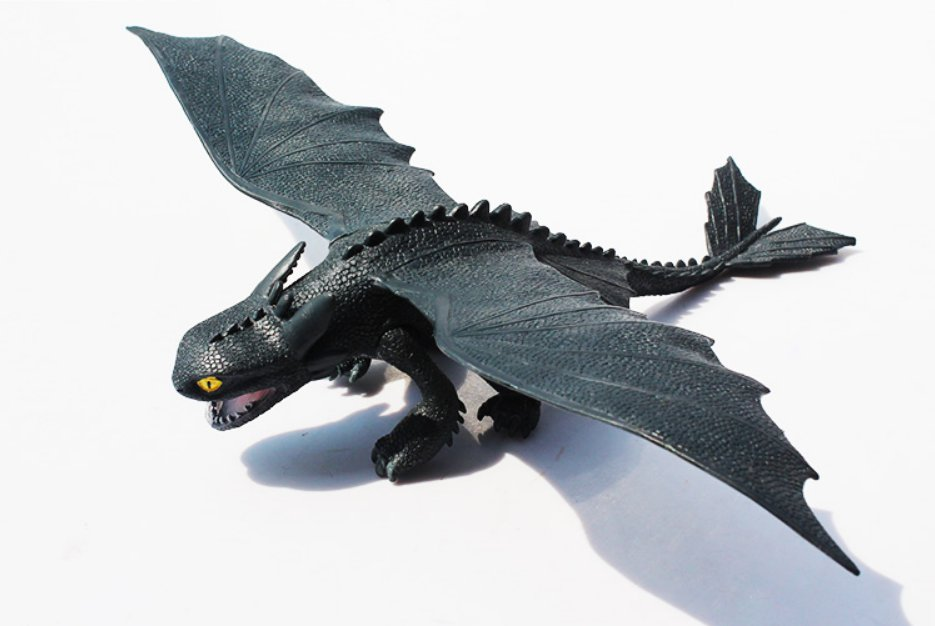 Night Fury 28cm How To Train Your Dragon Toothless Night Action Figure PVC Toy