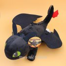52cm Night Fury Plush Toy How to Train Your Dragon 2 Toothless Figure Toys