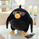 Black birds plush toys birthday gift Christmas gift Angry Bird