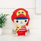 20cm One Piece Chopper Plush Toys Anime Tony Tony Chopper Cosplay Plush Doll Soft Stuffed B