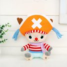 20cm One Piece Chopper Plush Toys Anime Tony Tony Chopper Cosplay Plush Doll Soft Stuffed D